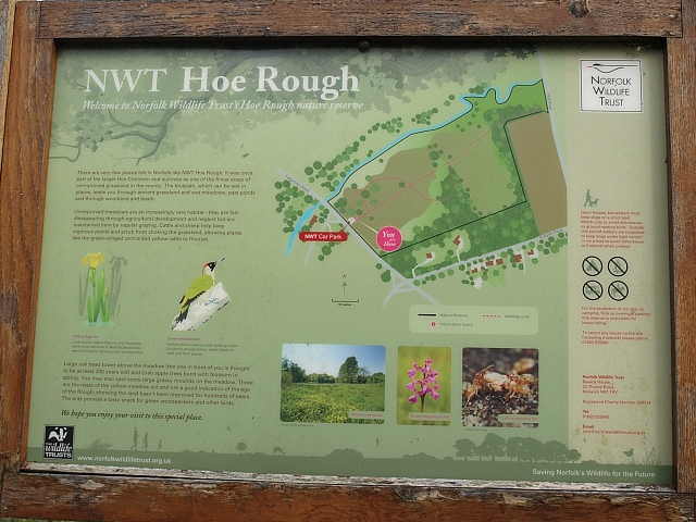 Hoe Rough walk
