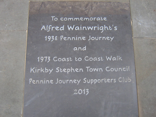 Wainwright Memorial Tablet