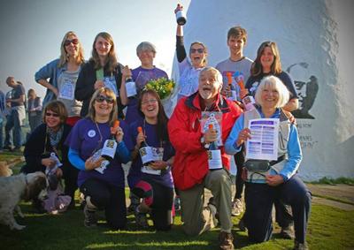 Winners of the Bollington Challenge