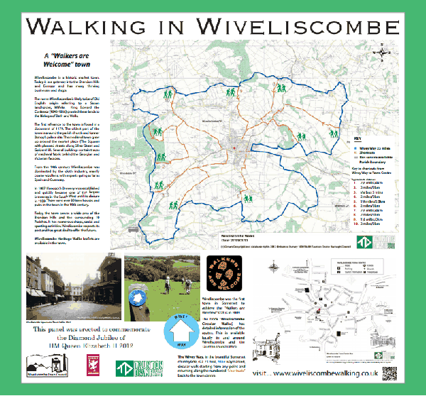Wiveliscombe map