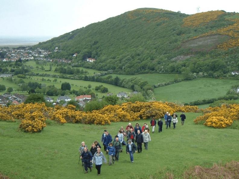 17th Annual Prestatyn & Clwydian Range Walking Festival